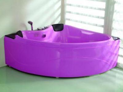 ванна акриловая сиреневая