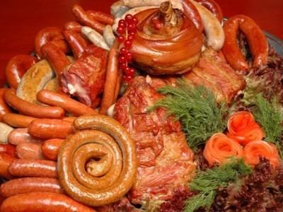 колбасы и копченности