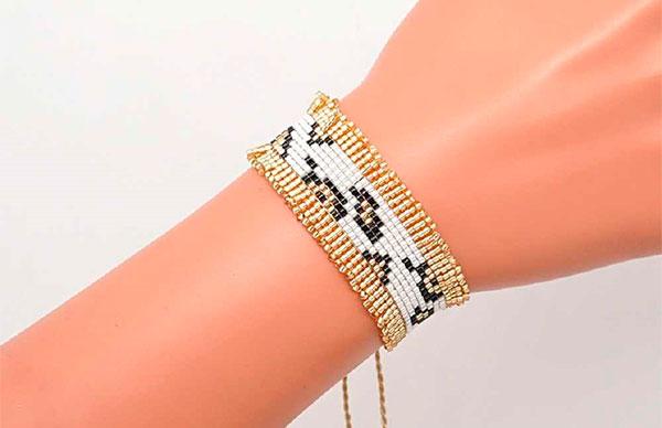 Леопардовый браслет