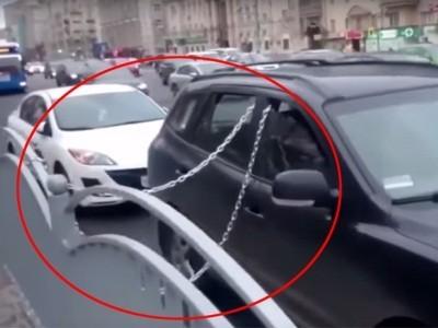закрепление автомобиля