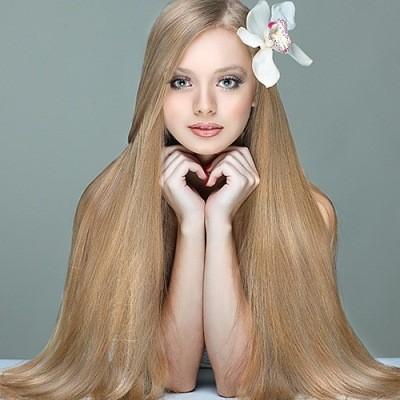 украшение любой девушки – это ее волосы