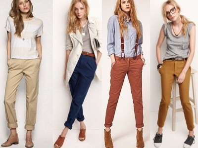 брюки чинос