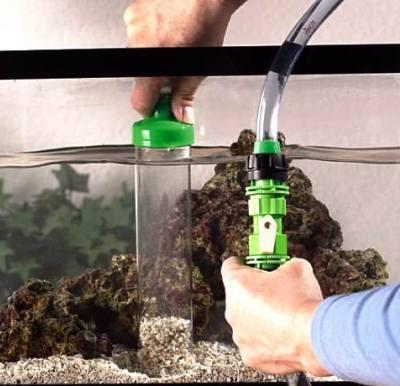 чистка грунта аквариума