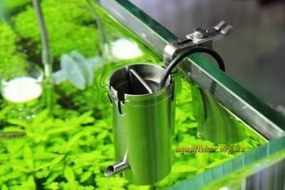 устройство для уничтожения (собирания) бактериальной плёнки на поверхности воды в пресноводных аквариумах VUPPA-I