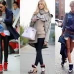 примеры одежды под сникерсы