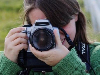 необходима качественная профессиональная или полупрофессиональная фототехника