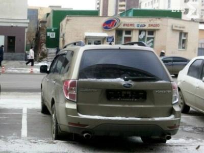 эвакуация автомобиля со снятыми номерами