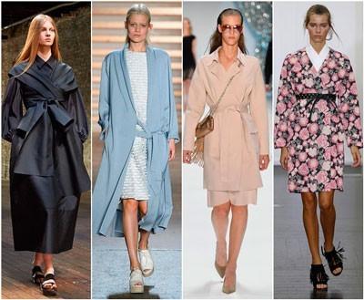 С чем носить пальто кимоно