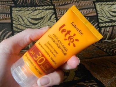 солнцезащитный крем каждый день