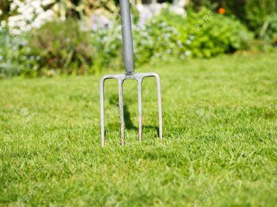 вилы для газона