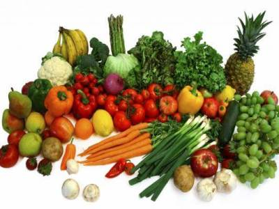 включите в диету фрукты и овощи