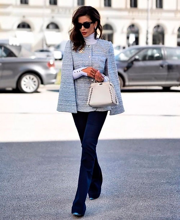 Светлый пиджак с брюками