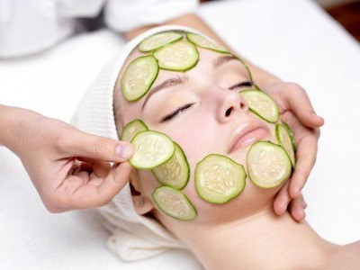 огурец полезен для кожи лица