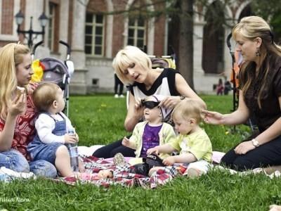 общение молодых мамочек