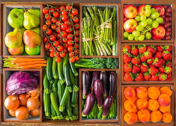 Отборные овощи и фрукты без запаха лучше не покупать