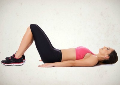 правильное положение тела для выполнения упражнения «Лифт»