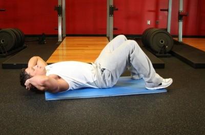 положение тела при выполнении упражнения