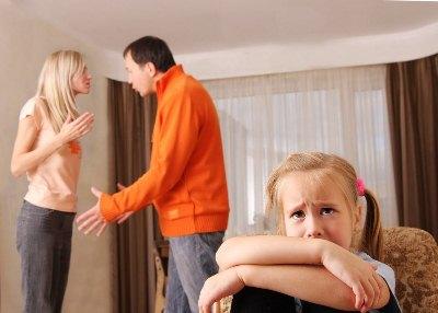 развод в семьях с детьми