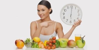 приемы пищи рекомендованы в одно и то же время