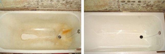 вкладыш нужен для реставрации ванн