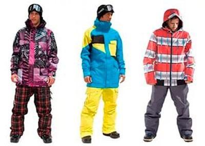 Мужские костюмы для зимнего активного отдыха
