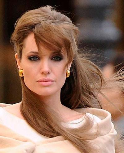 "Анжелина Джоли на съемках фильма ""Турист"
