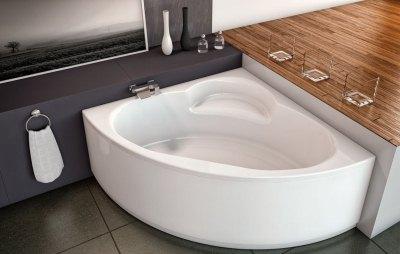 угловая вання из акрила