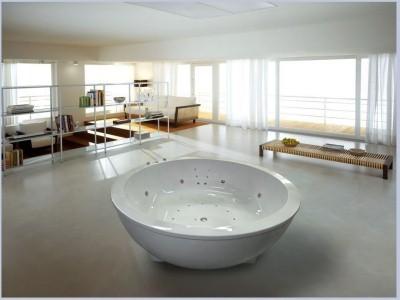 круглые ванны из акрила