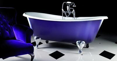 цветные акриловые ванны