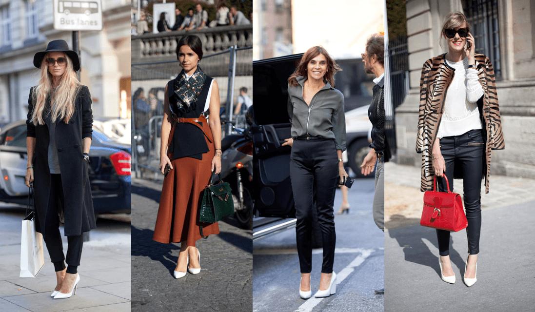 Туфли на каблуке и сочетание с одеждой