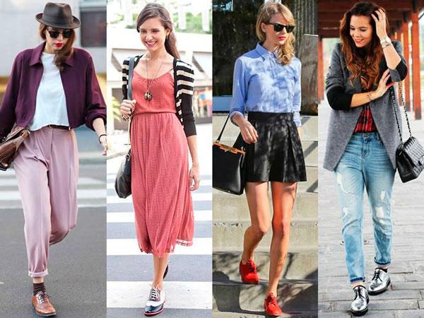 С чем носить женские ботинки челси летом