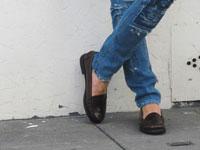 С чем носить туфли лоферы