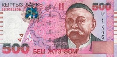 Местная валюта в Кыргызстане - сом