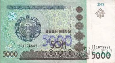 Местная валюта в Узбекистане - сум