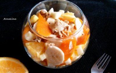 фруктово-тыквенный салат
