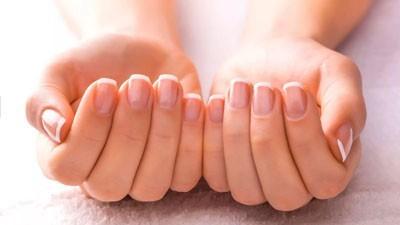 Вид здоровых ногтей