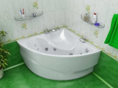 маленькая угловая ванна