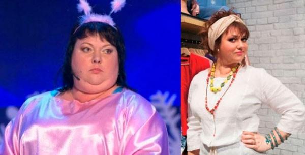 Ольга Картункова - до и после