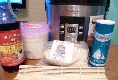 ингредиенты для готовки риса