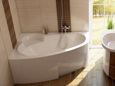 ассиметричная ванна