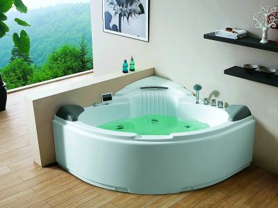 угловая вання с гидромассажем