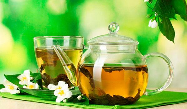 Во время диеты пейте зеленый чай