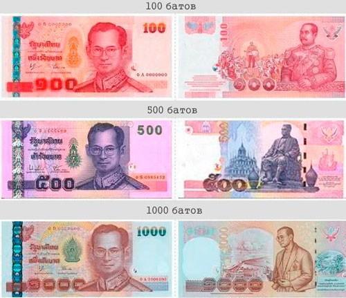 Валюта Таиланда - Бат