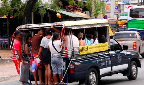 Тук-туки в Таиланде