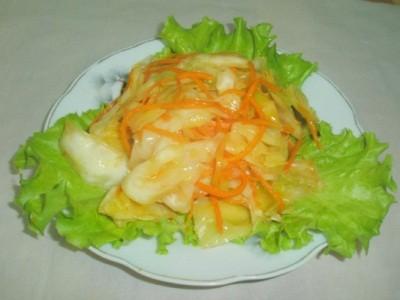 капуста по-корейски с морковью