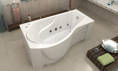 Фото: ванна акриловая