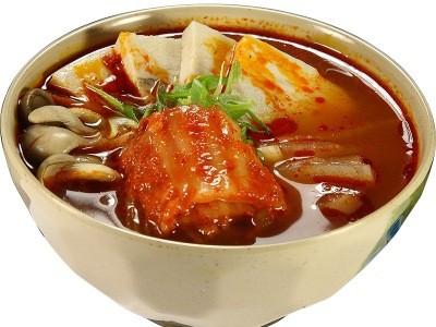 суп с кимчи