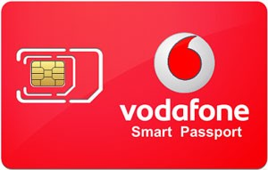 Vodaphone smart passport