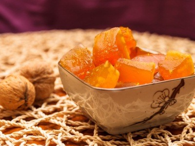 цукаты из тыквы в яблочном соке