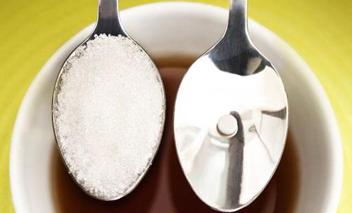 Соотношение сахара и сахарозаменителя